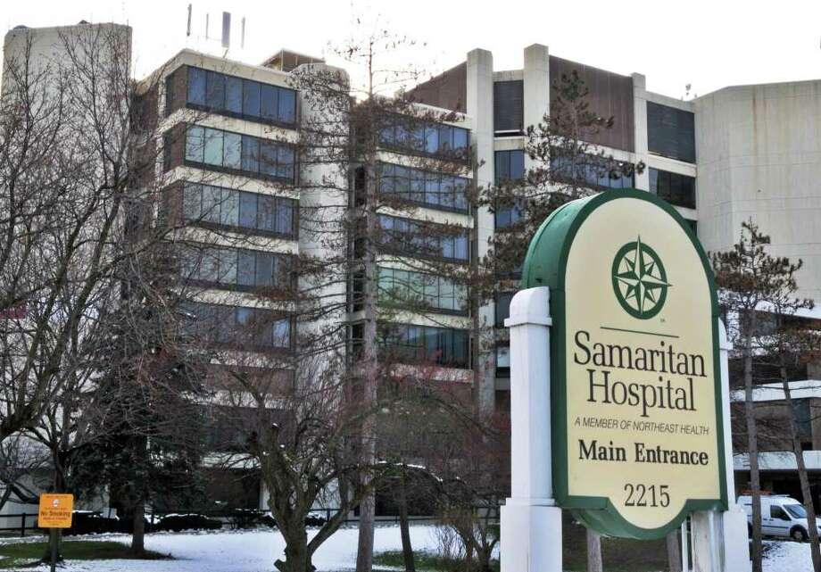 Main entrance of Samaritan Hospital in Troy Friday Dec. 9, 2011.    (John Carl D'Annibale / Times Union) Photo: John Carl D'Annibale