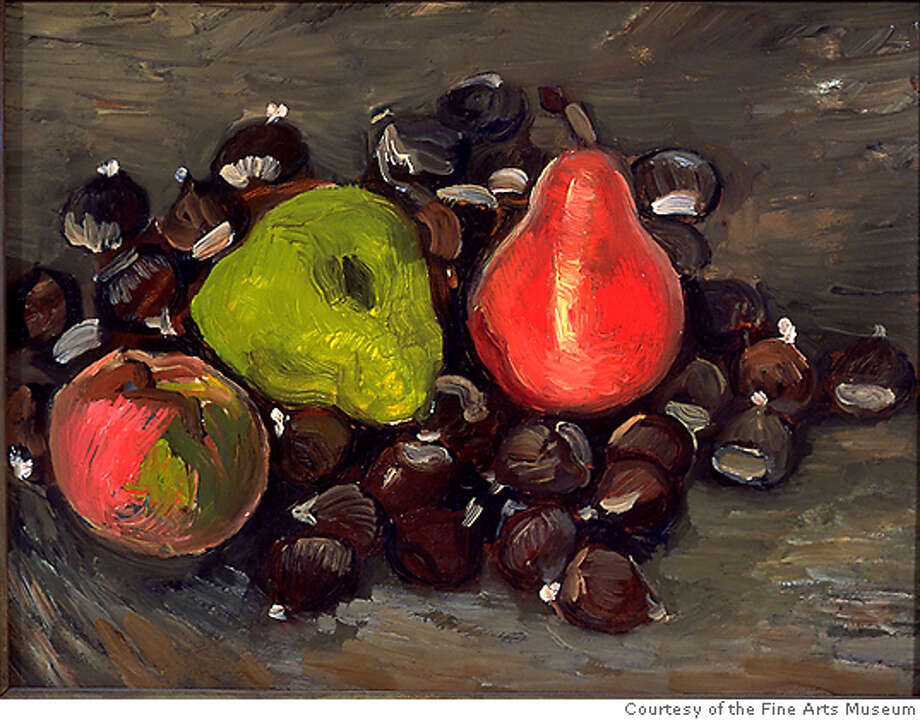 """""""Still Life"""" (1880s) oil on canvas by Vincent van Gogh. Photo: Courtesy Of The Fine Arts Museum"""