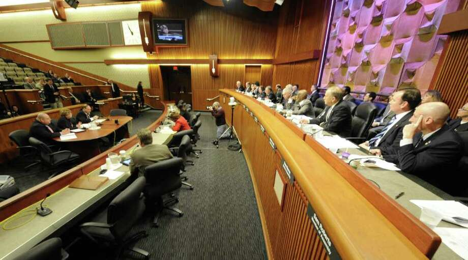New York State Transportation Commissioner Joan McDonald speaks during a budget hearing in Albany, N.Y. Jan. 26, 2012.     ( Skip Dickstein/Times Union) Photo: Skip Dickstein