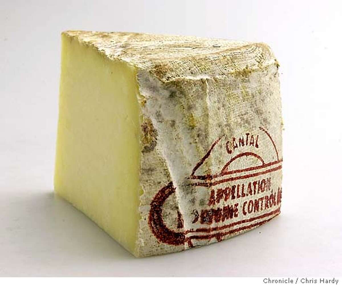 Cantal cheese for July 15 Cheese Course column. inSan Francisco San Francisco Chronicle/Chris Hardy