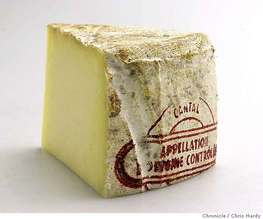 Cantal cheese for July 15 Cheese Course column.  inSan Francisco  San Francisco Chronicle/Chris Hardy Photo: Chris Hardy