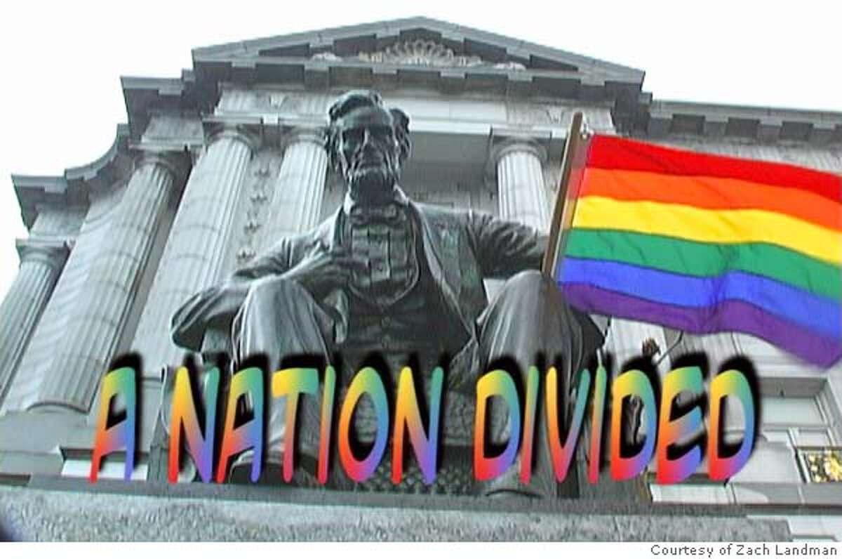 video still courtesy Zach Landman Orinda high school kid's award-winning documentary on same-sex weddings in S.F.