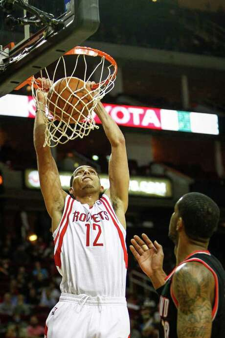 With coach Kevin McHale's strategy, even Rockets guard Kevin Martin gets in the paint. Photo: Michael Paulsen / © 2011 Houston Chronicle