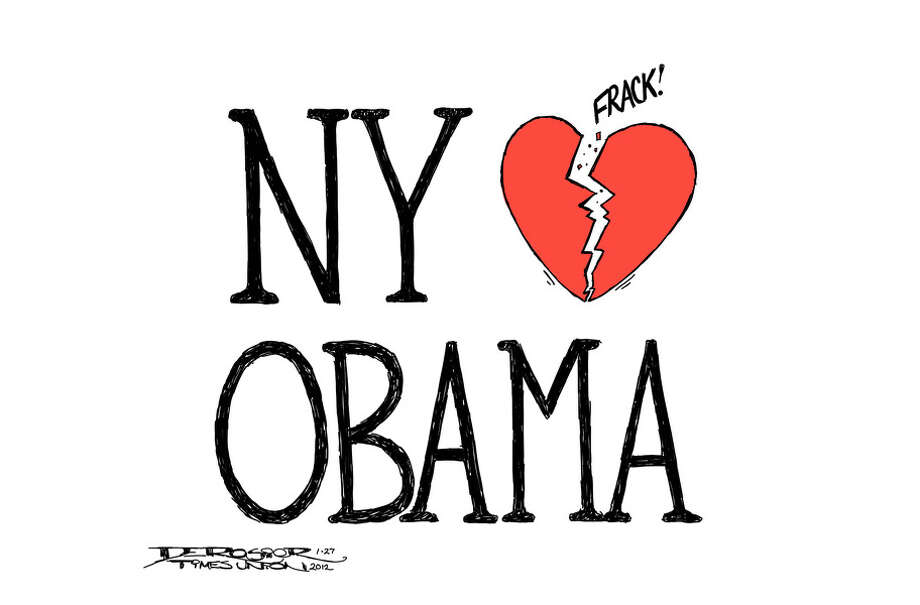 Obama betrays New Yorkers with support for hydrofracking. Photo: John De Rosier