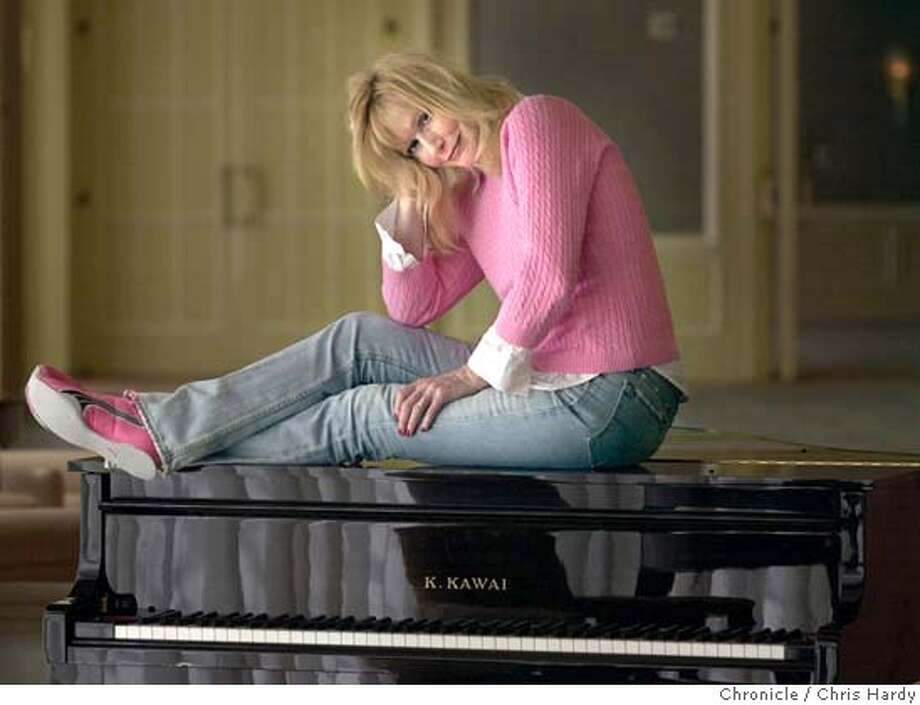 """Sally Kellerman is now starring as madam Zinzanni in """"Teatro Zinzanni'' . Here she is in her street clothes.  at San Francisco,CA on 6/28/04  San Francisco Chronicle/Chris Hardy Photo: Chris Hardy"""