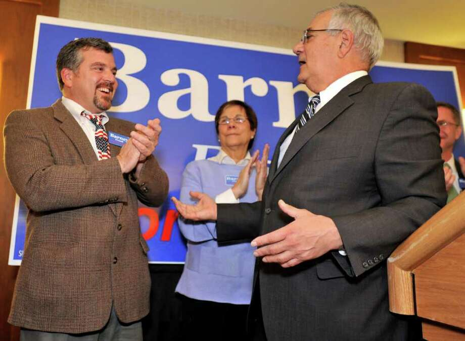 Rep. Barney Frank, right, plans to marry Jim Ready, left, in his home state of Massachusetts. Photo: Josh Reynolds / FR25426 AP