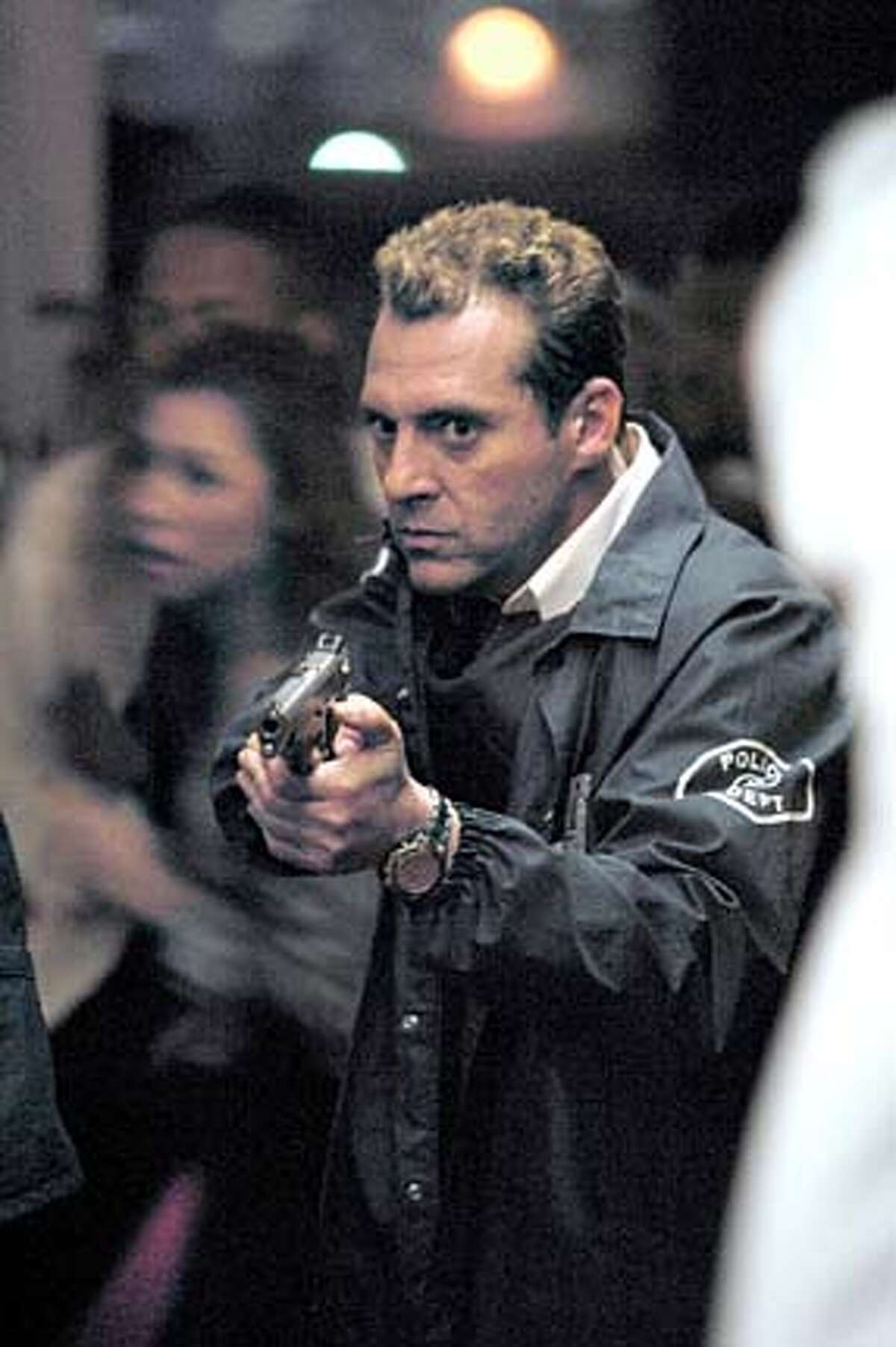 """Despite the presence of Tom Sizemore, CBS' """"Robbery Homicide Division"""" never caught on with viewers. CBS photo by Robert Voets"""