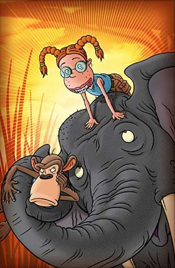 "Darwin, Eliza and Phaedra the elephant are three characters in ""The Wild Thornberrys Movie."""