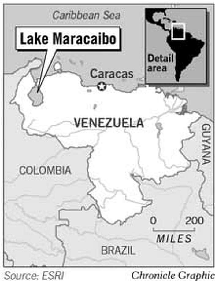 Lake Maracaibo. Chronicle Graphic Photo: Todd Trumbull