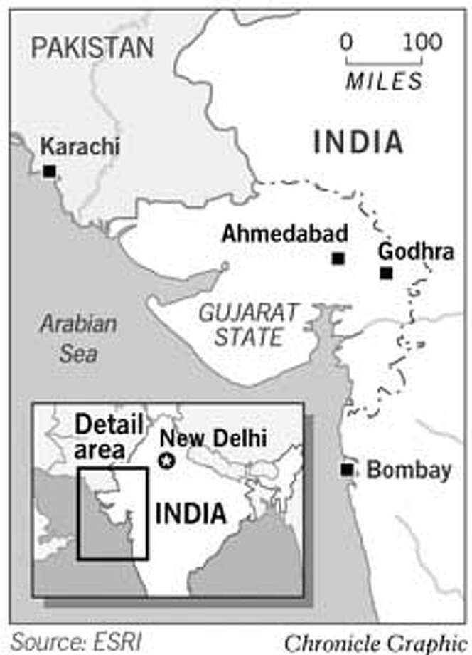 Gujarat State, India. Chronicle Graphic