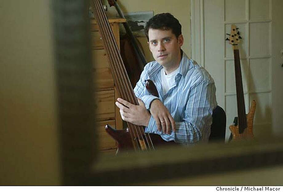 corycombs067_mac.jpg Profile of Cory Combs, bassist extraordinaire, recorded a growingly acclaimed avant guard album in his home recording studio, in Noe Valley . event on 5/21/04 in San Francisco Michael Macor / San Francisco Chronicle Mandatory Credit For Photographer and SF Chronicle/ - Magazines Out Photo: Michael Macor