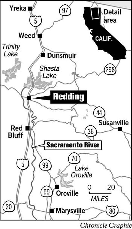 Redding. Chronicle Graphic