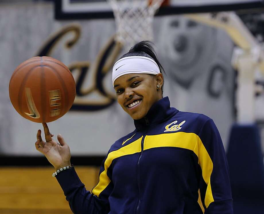 Cal Bears freshman point guard Brittany Boyd is seen on the basketball court in Haas Pavilion in Berkeley, Calif. on Wednesday, Jan. 25, 2012. Photo: Paul Chinn, The Chronicle