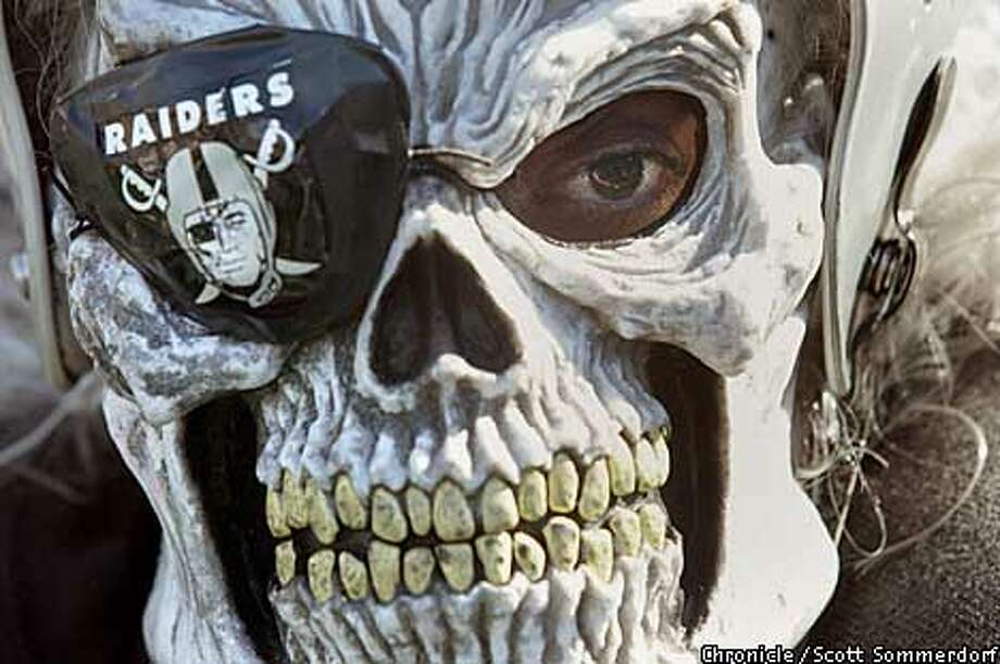 Readers differ on the origin of the behavior of Raiders fans. Chronicle photo by Scott Sommerdorf
