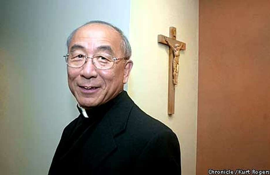 Bishop Wong is the first Chinese American Bishop.photo By Kurt Rogers Photo: Kurt Rogers