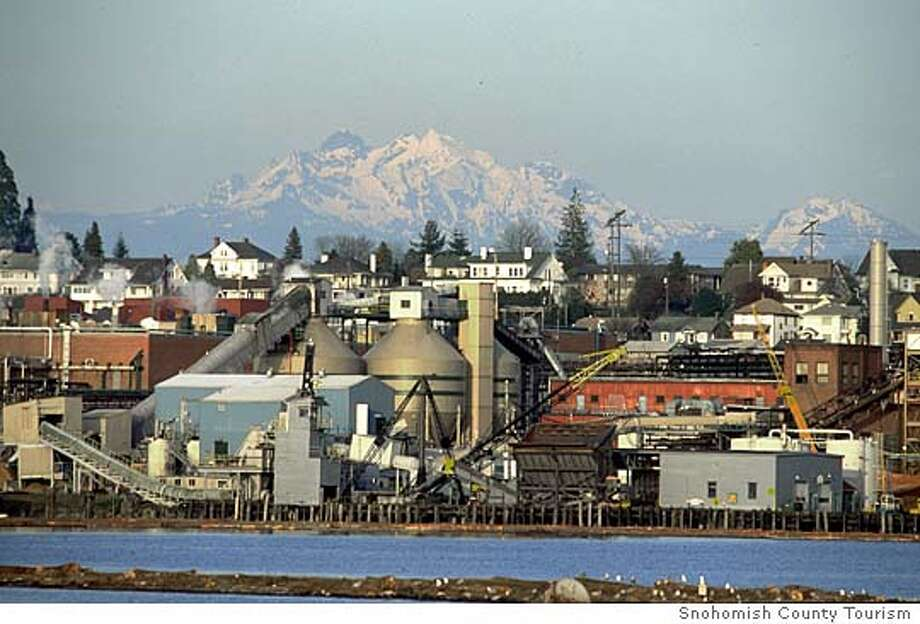 SNOHOMISH.JPG Industrial Everett Waterfront in Everett, Washington Courtesy of / Snohomish County Tourism Photo: Snohomish County Tourism