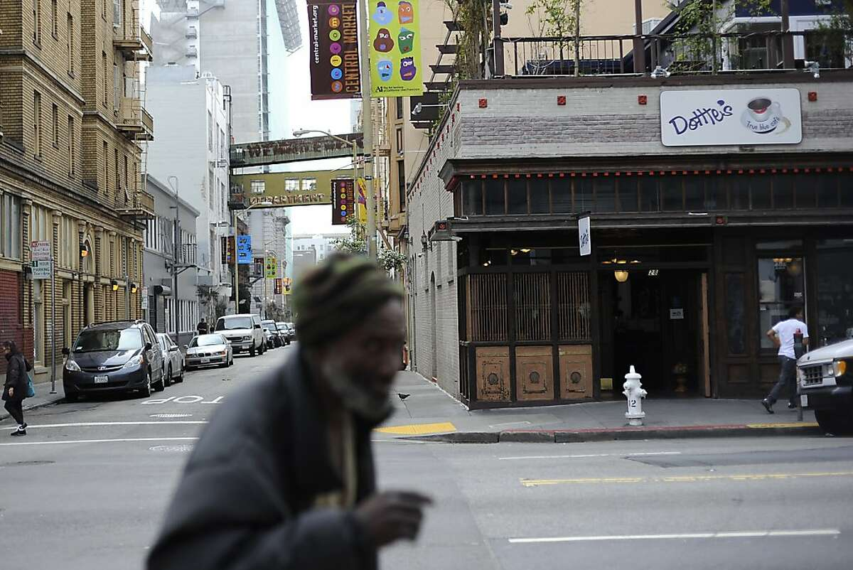 Dottie's Cafe is seen on the corner of 6th and Stevenson in San Francisco. Thursday January 26th, 2012.