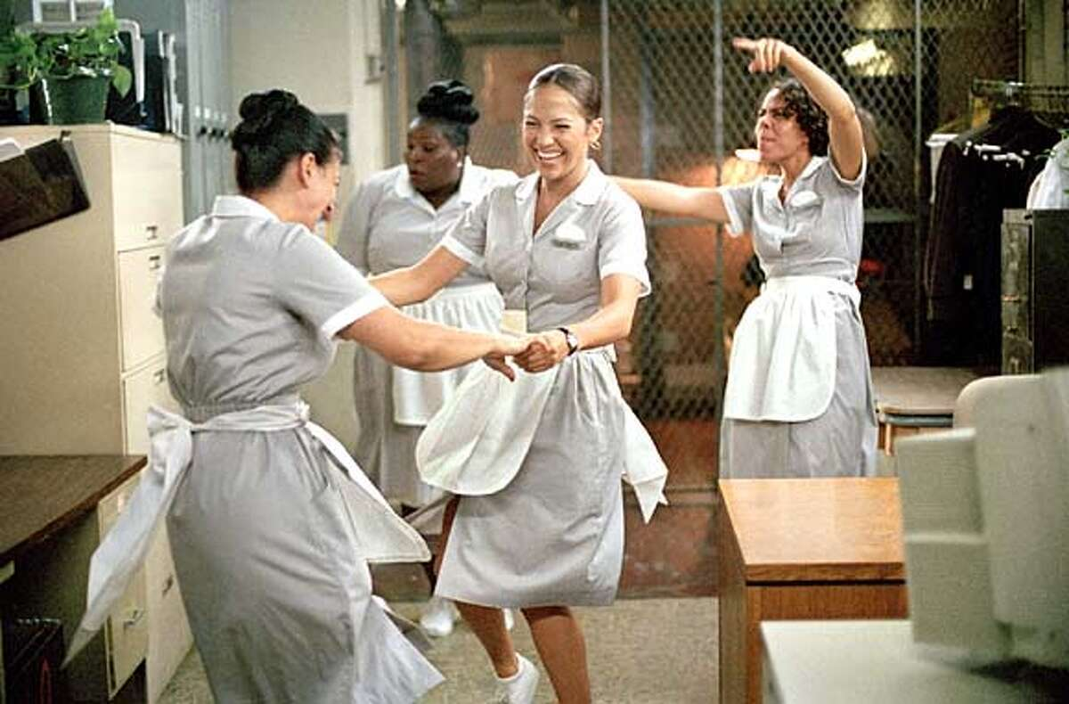 Jennifer Lopez is convincing as Marisa, a Manhattan hotel maid who finds her prince in a wealthy guest.