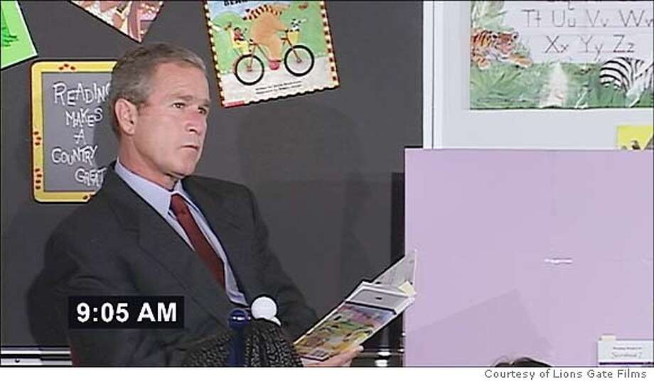 After being told �America is under attack� when the second plane hit the tower on 9/11, George W. Bush continued to read �My Pet Goat� in a Florida classroom for nearly seven minutes.