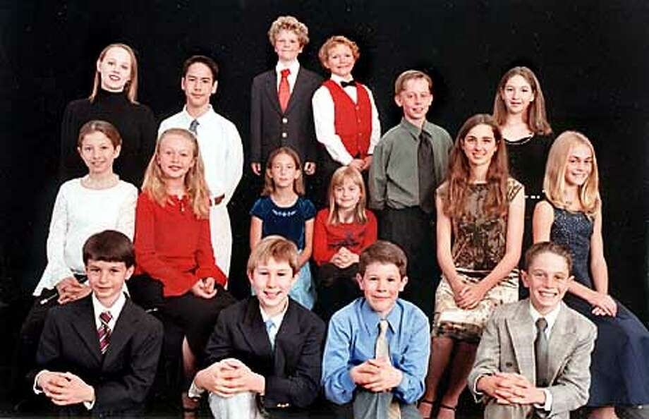 The young actors of A.C.T.'s 25th edition of Charles Dickens's A Christmas Caro  HANDOUT PHOTO Photo: HANDOUT