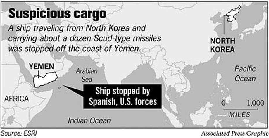 Suspicious Cargo. Associated Press Graphic