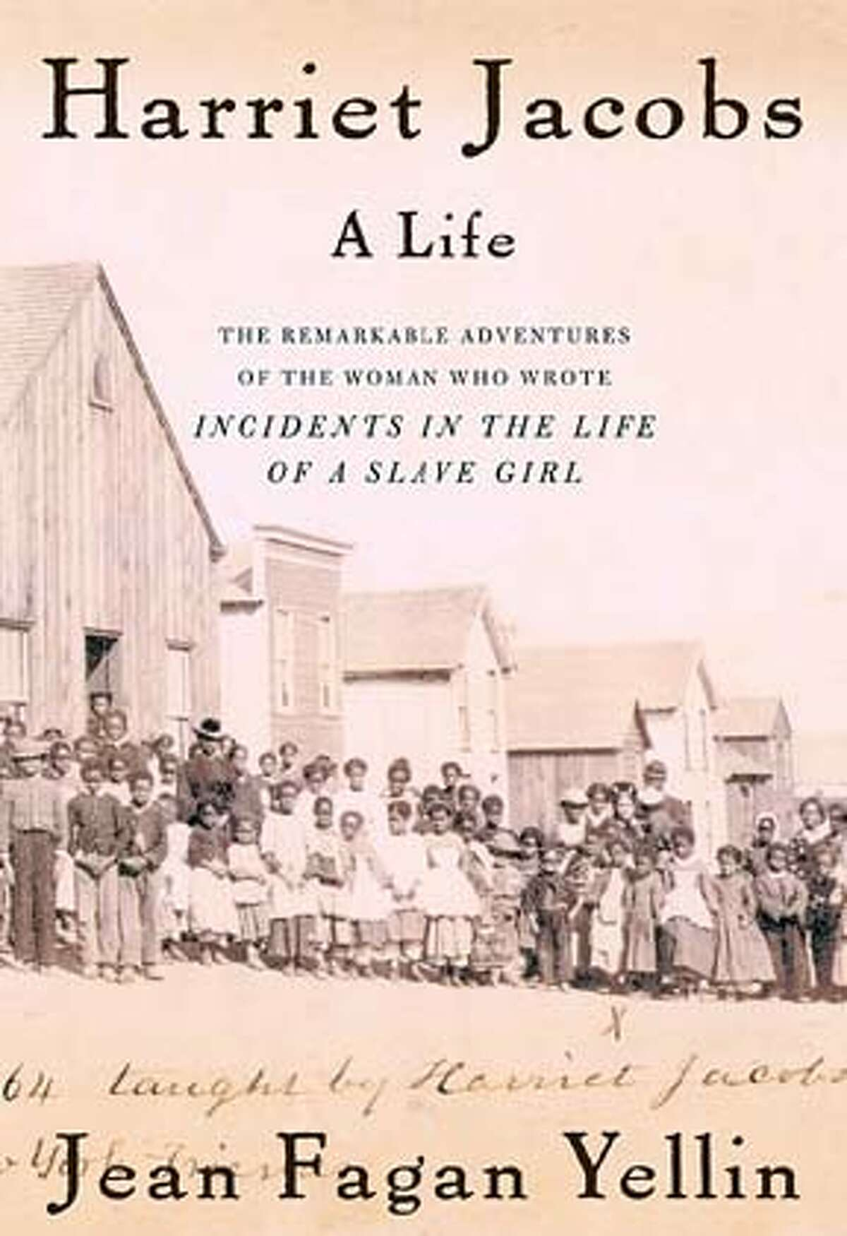 Book cover of Harriet Jacobs by Jean Fagan Yellin.