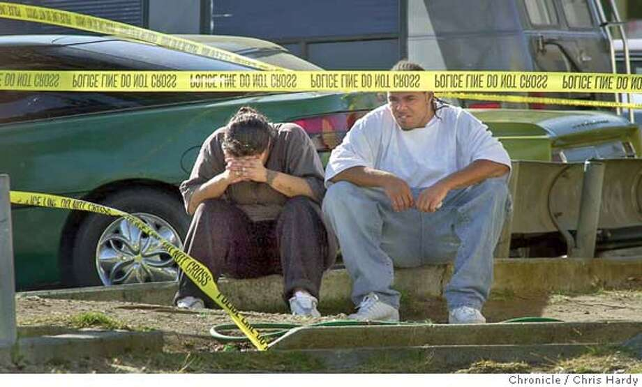 3 people shot at housing project in Potrero hill  at San Francisco,CA on 6/21/04  San Francisco Chronicle/Chris Hardy Photo: Chris Hardy