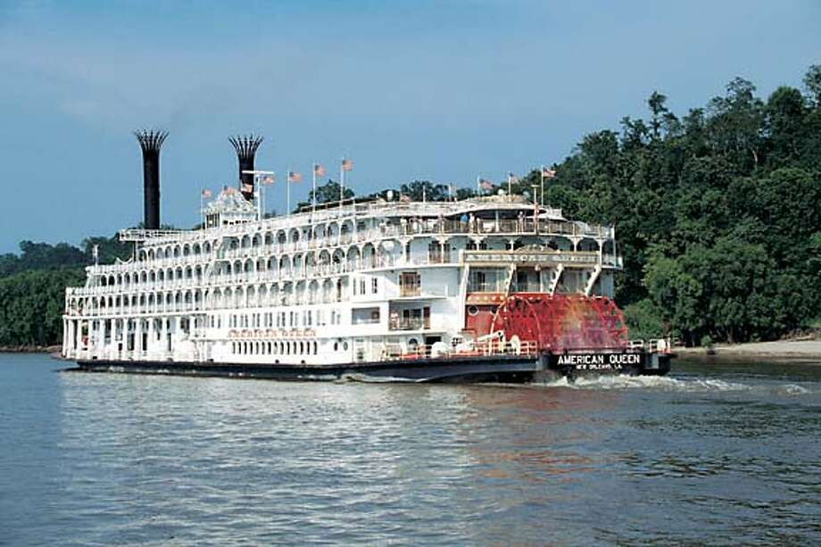 The American Queen, the largest steamboat ever built, will be returning to the Mississippi and Ohio rivers in January after being idled for 15 months because of its parent company's bankruptcy. Photo courtesy of Delta Queen Steamboat Co.
