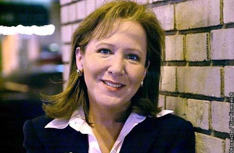 "ANTILLAXX-C-22NOV02-BU-KK  Susan Antilla is a Bloomberg writer who wrote the book ""The Boom Boom Room""  CHRONICLE PHOTO BY KIM KOMENICH"