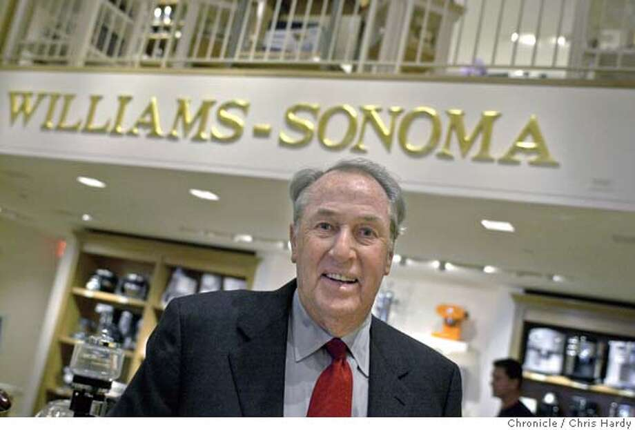 Howard Lester, chairman of Williams-Sonoma, for business interview and shots of him at Union Sq store  Event on 3/24/04 in San Francisco.  Chris Hardy / San Francisco Chronicle Photo: Chris Hardy