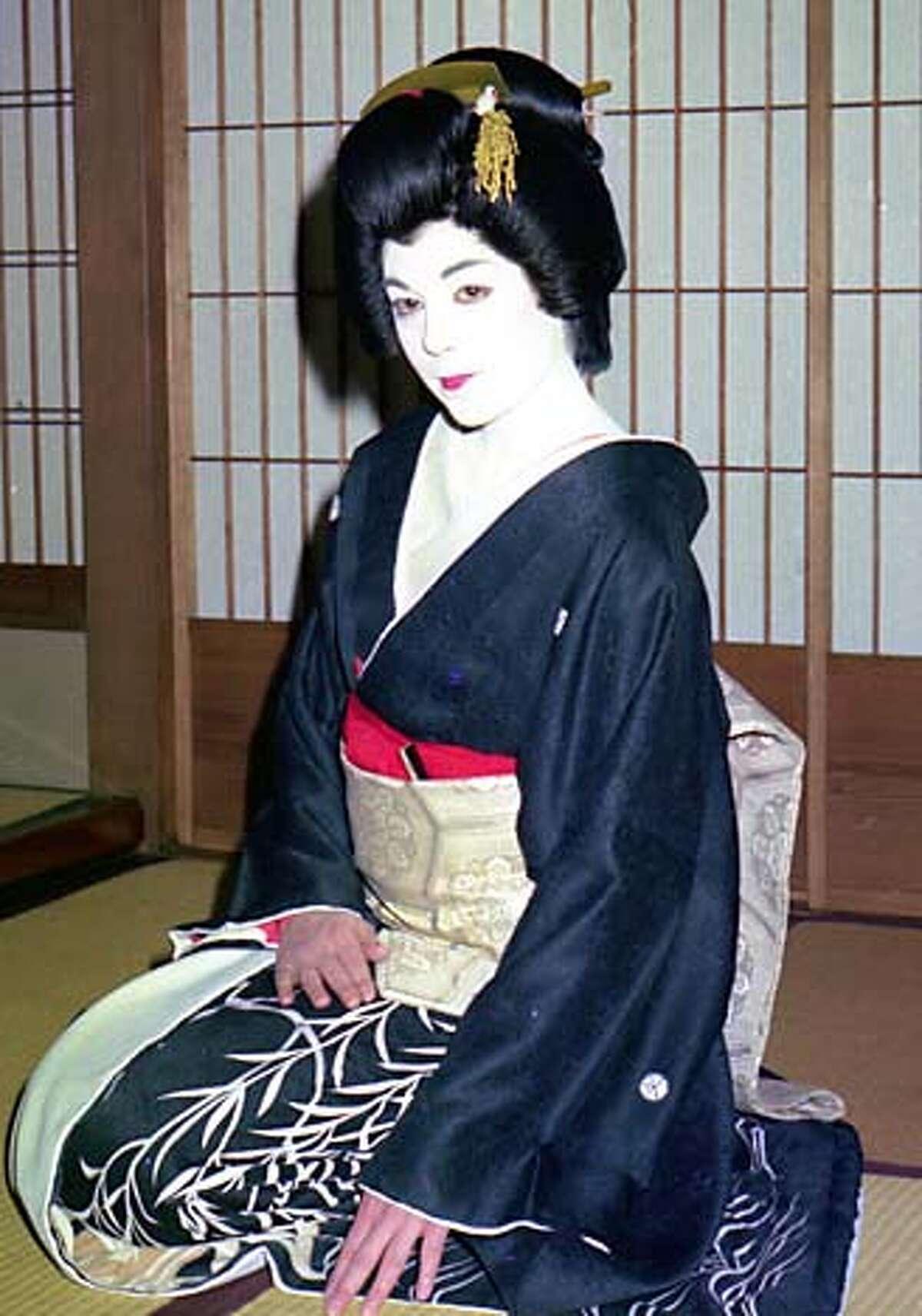 Liza Dalby as a geisha