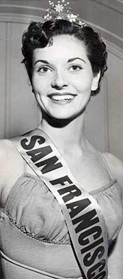 Lee Ann Meriwether, Miss San Francisco June 1954.
