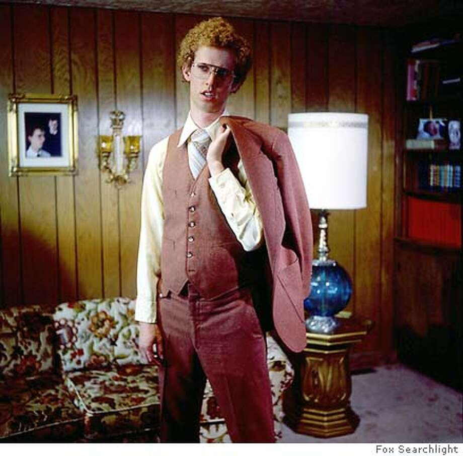 "Publicity photos from the Fox Searchlight film, ""Napoleon Dynamite."" Jon Heder in NAPOLEON DYNAMITE Photo taken on 4/7/04 in , CA. Photo: Aaron Ruell"