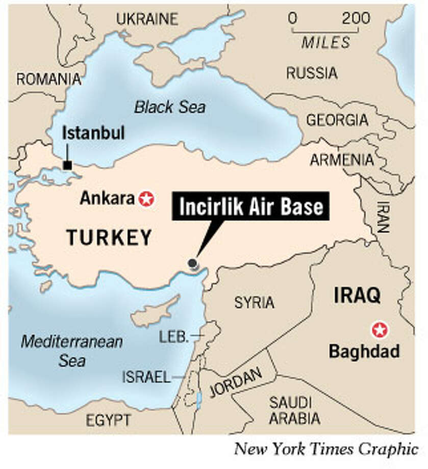 Turkey offers help if U.N. approves war - SFGate on shaw air force base, ramstein air base, aviano air base, osan air base, 39th air base wing, eaker air force base map, dover air base map, otis air national guard base map, raf alconbury, buckley air base map, raf lakenheath, selfridge air base map, barksdale air base map, malmstrom air force base, shaw air base map, eglin air base map, phan rang air base map, minot air force base, izmir air base, marine corps air station iwakuni map, scott air force base, howard air force base map, los angeles air force base map, barksdale air force base, andersen air base map, tyndall air base map, mcconnell air base map, lajes field, kadena air base, croughton air base map, seymour johnson air force base map, united states air force academy map, iwakuni air base map, offutt air base map,