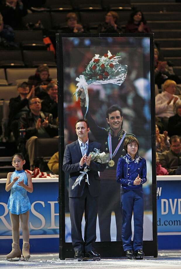 Former US and Olympic champion Brian Boitano took part in the opening ceremonies at the U.S. Figure Skating Championships, at HP Pavilion, in San Jose Calif,. Thursday, January 26, 2012. Photo: Lance Iversen, The Chronicle