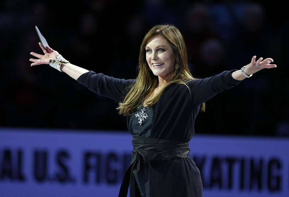 Former US and Olympic champion figure skater Peggy Flemingwas born in San Jose. Photo: Lance Iversen, The Chronicle