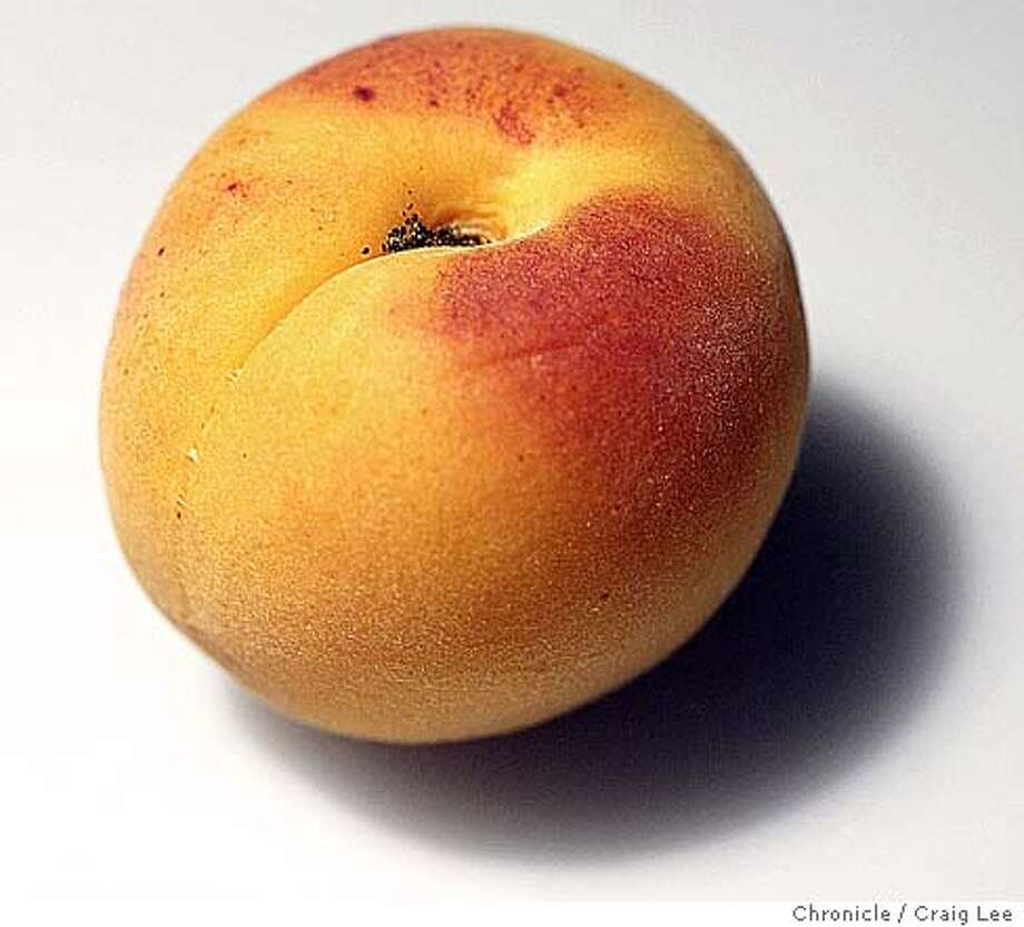 Close-up photo of an apricot.  Event on 6/11/04 in San Francisco. Craig Lee / The Chronicle Photo: Craig Lee