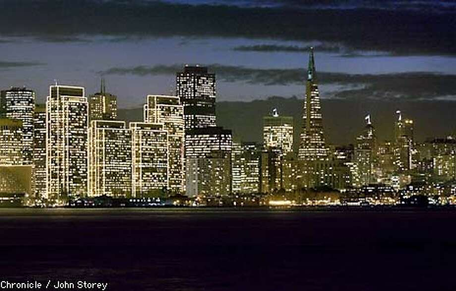 The San Francisco Skyline at dusk. Photo By John Storey. Photo: JOHN STOREY