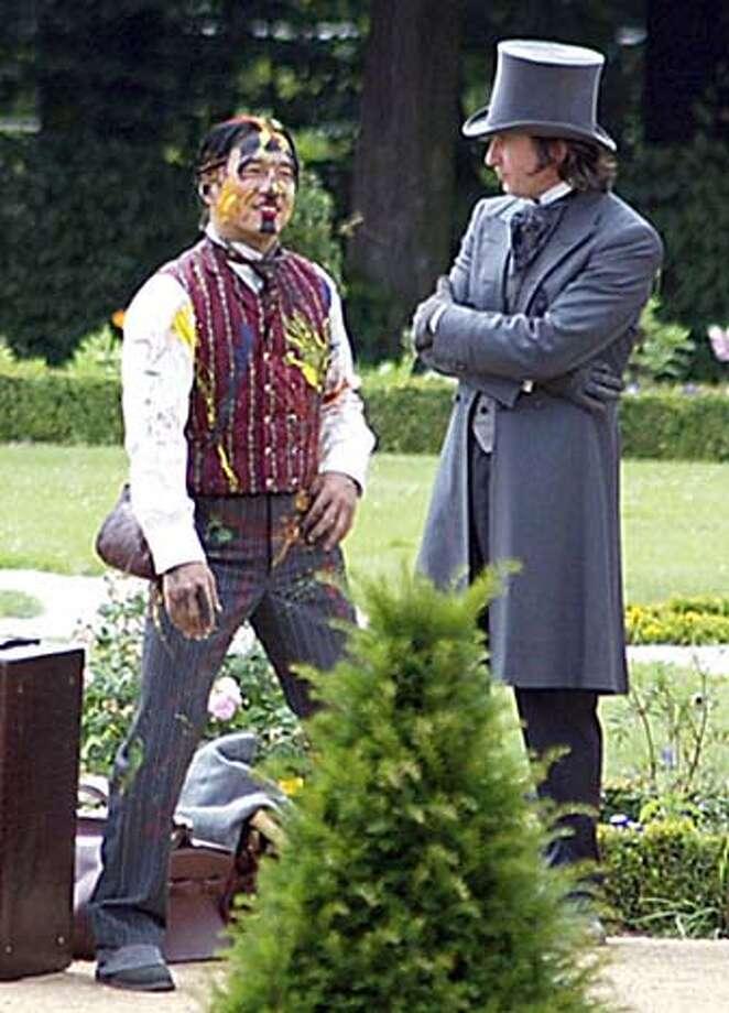 "Jackie Chan and Steve Coogan in ""Around the World in 80 Days"" 2004 Photo: Handout"