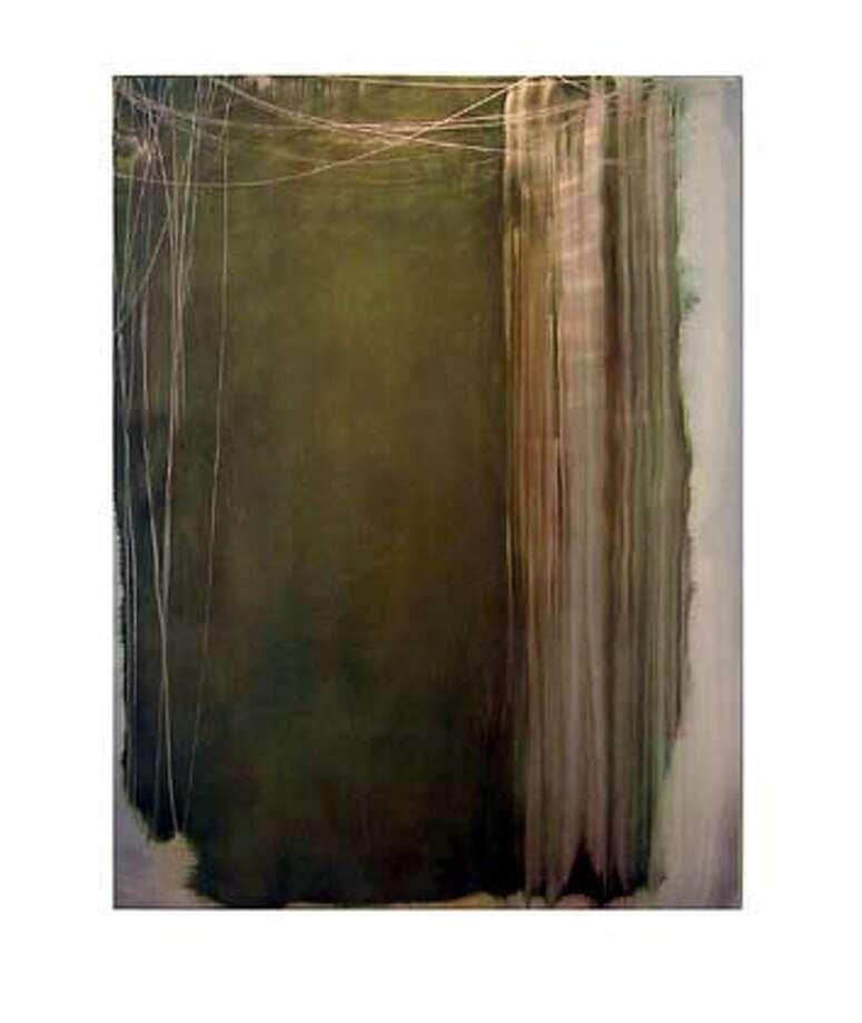Kim Anno, Then, 2004 oil on aluminum