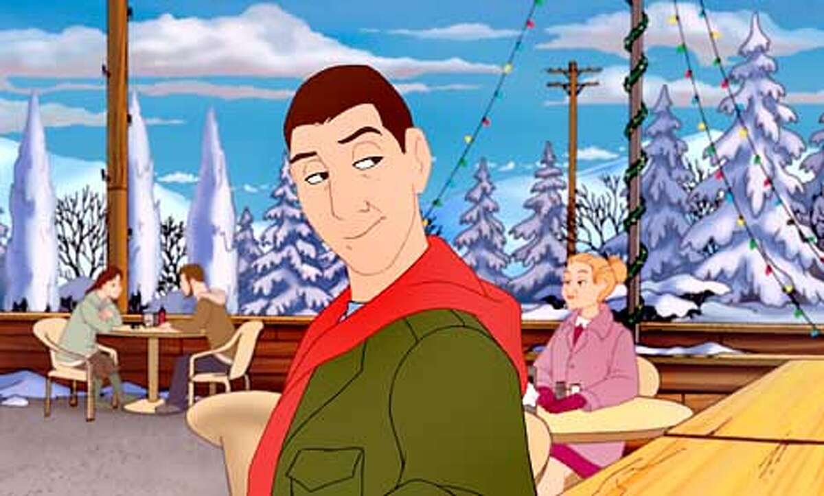 Davey Stone (the voice of Adam Sandler) has some serious growing up to do in Columbia Pictures animated holiday musical Adam Sandlers