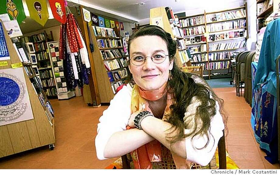 EBLCHANGE_076.JPG Photo taken on 6/5/04 in OAKLAND.  Sarah Cohen, owner of Change Makers, a bookstore/giftshop that is becoming a draw for East Bay feminists. Photo: Mark Costantini/SF Chronicle Photo: MARK COSTANTINI