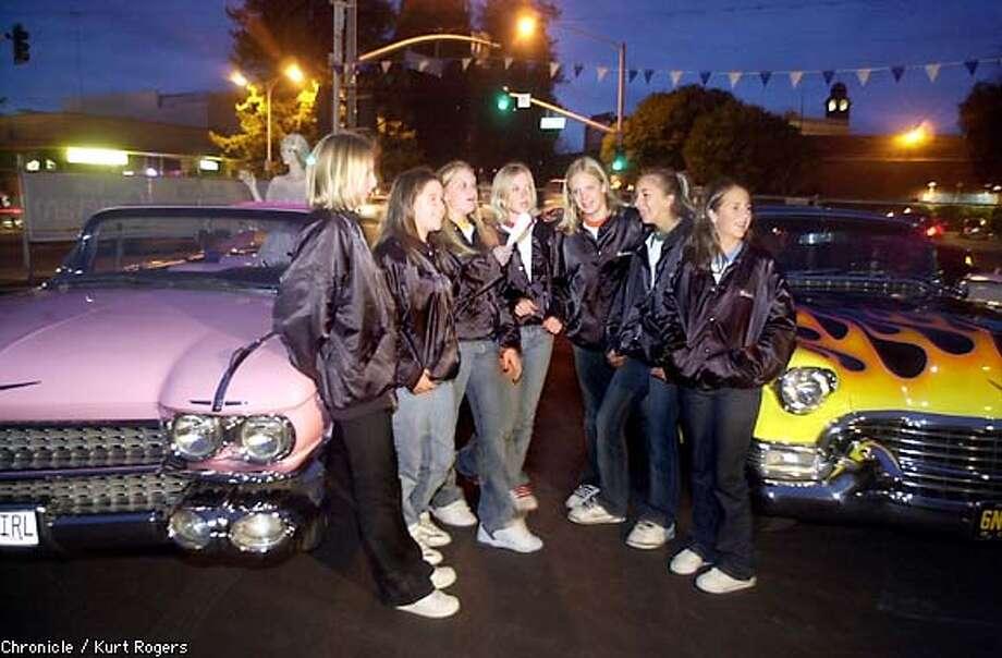 A screen of their own / For 7 enterprising Petaluma girls, cinema