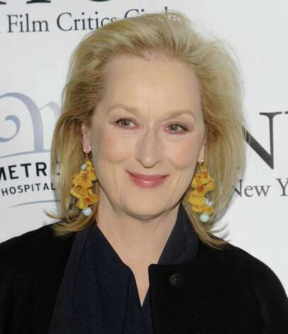 Meryl StreepThe screen