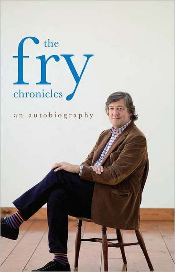 Cover image for The Fry Chronicles, by Stephen Fry Photo: Xx