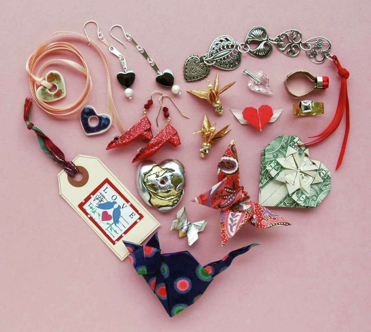 Joan Son's annual Last Minute Valentines Sale Friday and Feb. 4 features handmade tokens of affection by several Houston-based artists.