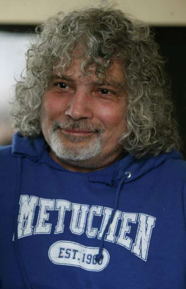 """In this  April 15,2011 photo, Robert Hegyes is interviewed in his home in  Metuchen, N.J.   Hegyes, the actor best known for playing Jewish Puerto Rican student Juan Epstein on the 1970s TV show """"Welcome Back Kotter"""" has died. He was 60. The Flynn & Son Funeral Home in Fords, N.J., said it was informed of Hegyes' death Thursday by the actor's family.   He was born in Perth Amboy and grew up in Metuchen, the eldest child of a Hungarian father and Italian mother.    He attended Rowan University, formerly Glassboro State College, in southern New Jersey, before heading to New York City after graduation. He returned to Rowan on several occasions to teach master classes in acting, a university spokesman said Thursday.  (AP Photo/Home News Tribune, Mark R. Sullivan ) Photo: Mark R. Sullivan, Associated Press / HOME NEWS TRIBUNE"""