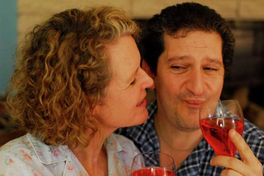 "Catherine Babbitt and Phil Kazen star in ""Same Time, Next Year."" Photo: James Teninty, Courtesy"