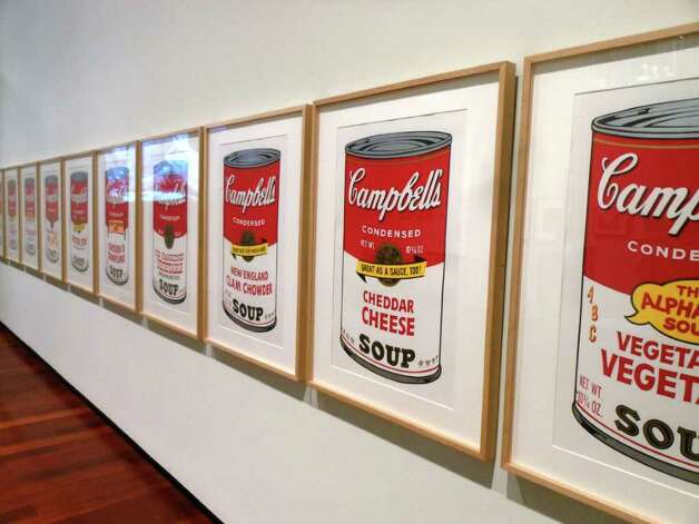 Is it art? By appropriating iconic images from the advertising world and making fine art of them, Andy Warhol redefined art in the '60s. Photo: Photo By Steve Bennett