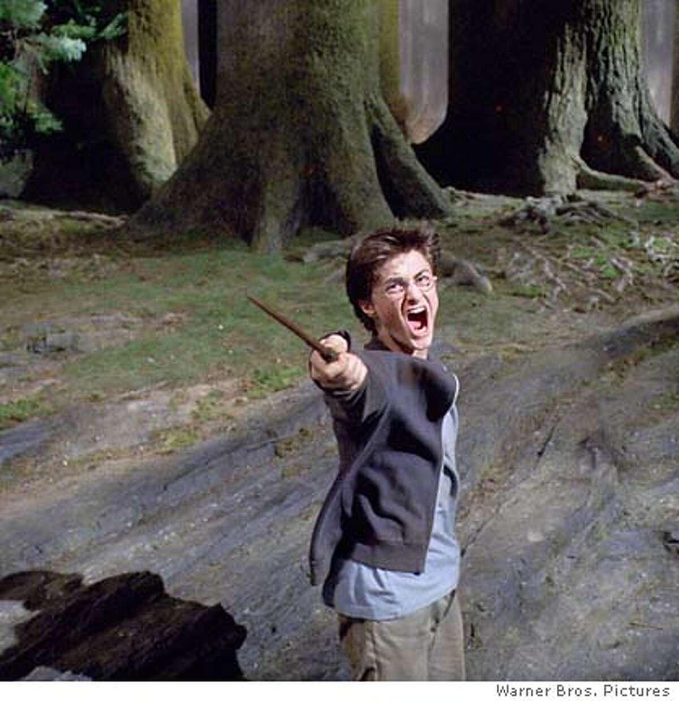 Daniel Radcliffe as Harry Potter in Warner Bros. Pictures fantasy Harry Potter and the Prisoner of Azkaban. (AP Photo/Warner Bros.)